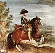 VELAZQUEZ, Diego Rodriguez de Silva y Equestrian Portrait of Philip IV kjugh oil painting picture wholesale