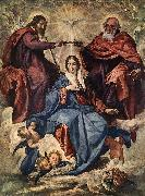 VELAZQUEZ, Diego Rodriguez de Silva y The Coronation of the Virgin jh oil painting picture wholesale