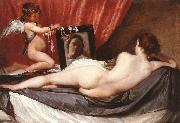 VELAZQUEZ, Diego Rodriguez de Silva y Venus at her Mirror (The Rokeby Venus) g oil painting picture wholesale