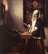 VERMEER VAN DELFT, Jan Woman Holding a Balance t oil painting picture wholesale