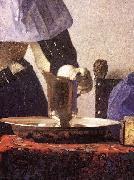 VERMEER VAN DELFT, Jan Young Woman with a Water Jug (detail) re oil painting picture wholesale