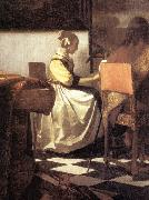 VERMEER VAN DELFT, Jan The Concert (detail) awr oil painting picture wholesale