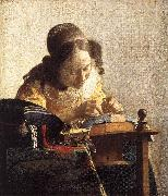 VERMEER VAN DELFT, Jan The Lacemaker er oil painting picture wholesale