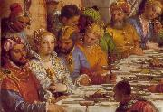 VERONESE (Paolo Caliari) The Marriage at Cana (detail) jh oil painting picture wholesale