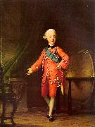 Vigilius Erichsen Grand Prince Pavel Petrovich in his Study oil painting artist
