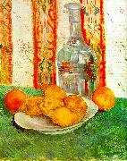 Vincent Van Gogh Still Life with Decanter and Lemons on a Plate Sweden oil painting reproduction