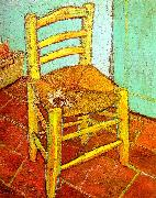 Vincent Van Gogh Artist's Chair with Pipe Sweden oil painting reproduction