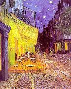 Vincent Van Gogh The Cafe Terrace on the Place du Forum, Arles, at Night oil painting picture wholesale