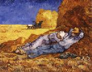 Vincent Van Gogh The Noonday Nap(The Siesta) oil painting picture wholesale