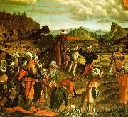 Vittore Carpaccio The Stoning of Saint Stephen oil painting artist