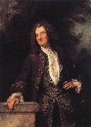 WATTEAU, Antoine Portrait of a Gentleman1 oil painting picture wholesale