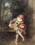 WATTEAU, Antoine Mezzetin22 oil painting picture wholesale