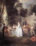 WATTEAU, Antoine Ftes Vnitiennes oil painting picture wholesale