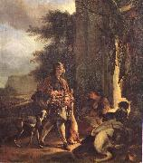 WEENIX, Jan After the Hunt oil painting artist