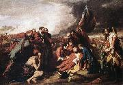 WEST, Benjamin The Death of General Wolfe oil painting picture wholesale