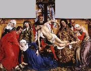 WEYDEN, Rogier van der Deposition oil painting picture wholesale