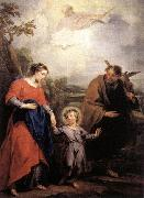 WIT, Jacob de Holy Family and Trinity oil painting artist