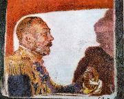 Walter Sickert King George V and Queen Mary oil painting picture wholesale
