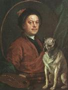William Hogarth The Painter and his Pug oil painting picture wholesale