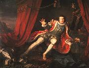 William Hogarth David Garrick as Richard III oil painting picture wholesale