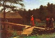 Winslow Homer The Morning Bell oil painting picture wholesale