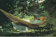 Winslow Homer Sunlight Shadow oil painting picture wholesale