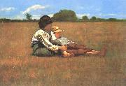 Winslow Homer Boys in a Pasture oil painting picture wholesale