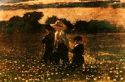 Winslow Homer In the Mowing oil painting picture wholesale
