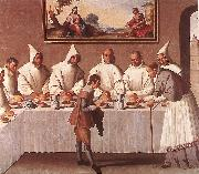 ZURBARAN  Francisco de St Hugo of Grenoble in the Carthusian Refectory oil painting picture wholesale