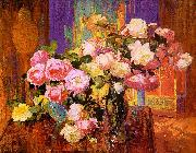 Bischoff, Franz Roses oil painting picture wholesale