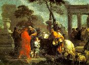 Bourdon, Sebastien The Selling of Joseph into Slavery oil painting picture wholesale