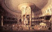 Canaletto London: Ranelagh, Interior of the Rotunda vf oil painting picture wholesale