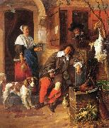 METSU, Gabriel The Sleeping Sportsman afg oil painting picture wholesale