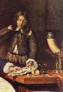 METSU, Gabriel The Breakfast (detail) sg oil painting artist