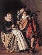 MOLENAER, Jan Miense The Duet ag oil painting picture wholesale