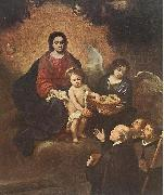 MURILLO, Bartolome Esteban The Infant Jesus Distributing Bread to Pilgrims sg oil painting picture wholesale