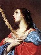 OOST, Jacob van, the Elder Female Martyr aty oil painting artist