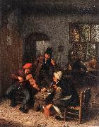 OSTADE, Adriaen Jansz. van Interior of a Tavern with Violin Player sg oil painting picture wholesale