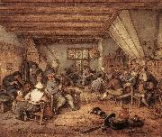 OSTADE, Adriaen Jansz. van Feasting Peasants in a Tavern ag oil painting picture wholesale