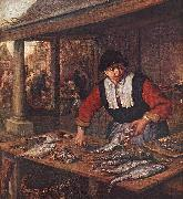 OSTADE, Adriaen Jansz. van The Fishwife sj oil painting picture wholesale