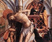 PACHER, Michael Flagellation agy oil painting artist