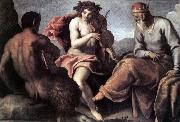 PALMA GIOVANE Apollo and Marsyas (1)a sg oil painting picture wholesale