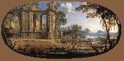 PATEL, Pierre Landscape with Ruins af oil painting picture wholesale