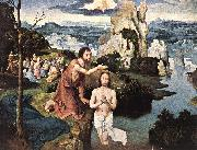 PATENIER, Joachim Baptism of Christ af oil painting artist