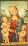 PERUGINO, Pietro Madonna with Child and Little St John a oil painting picture wholesale