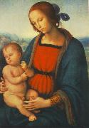 PERUGINO, Pietro Madonna with Child af oil painting picture wholesale