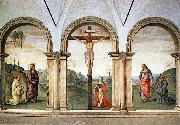 PERUGINO, Pietro The Pazzi Crucifixion sg oil painting picture wholesale