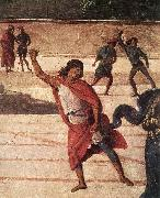 PERUGINO, Pietro Christ Handing the Keys to St. Peter (detail) af oil painting picture wholesale