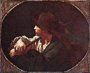 PIAZZETTA, Giovanni Battista Shepherd Boy ag oil painting picture wholesale