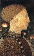 PISANELLO Portrait of Leonello dEste fgg oil painting artist
